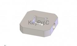 Элемент Твистер квадрат 16 мм
