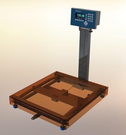 весы на тензодатчиках для производства газобетона