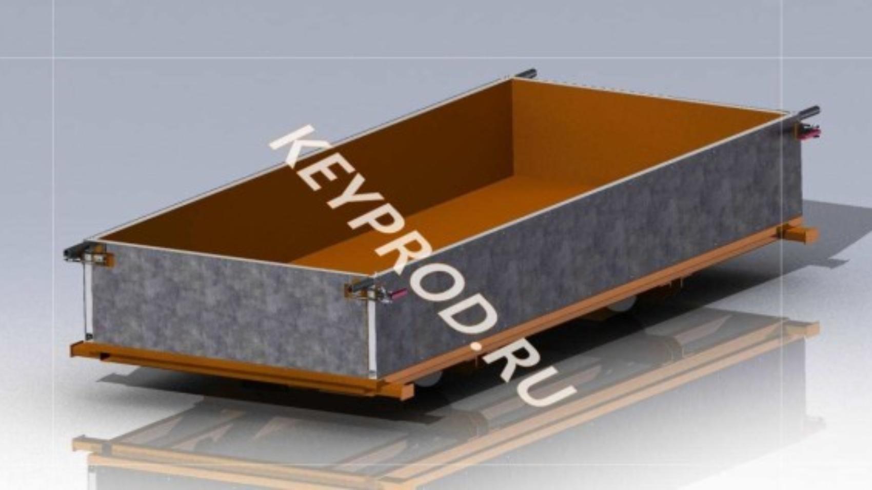 Форма конвейерная для производства газобетона