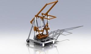 Вибропресс 3D-модель и чертежи скачать