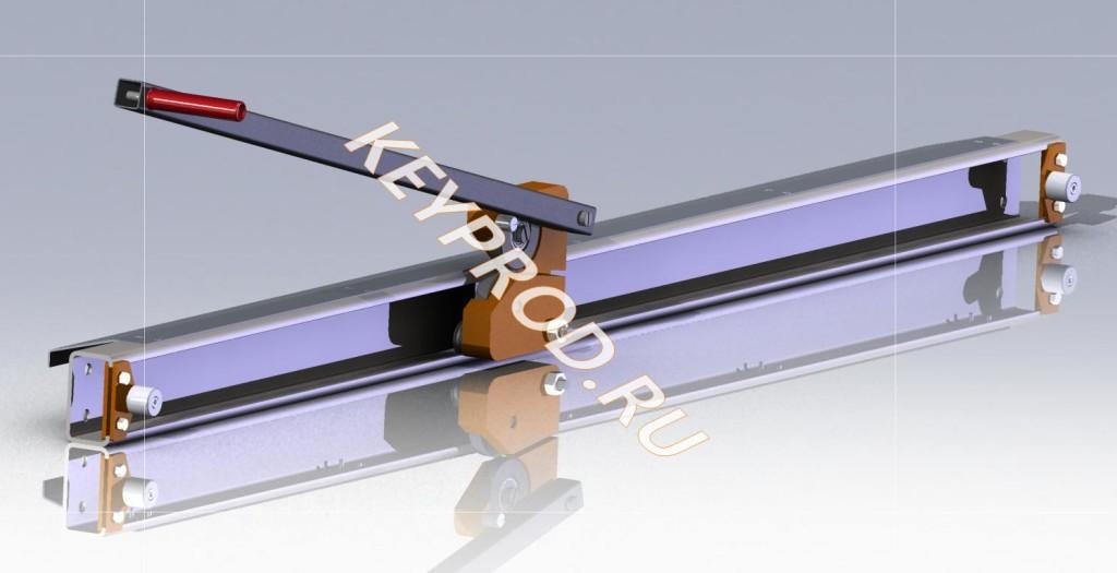 чертежи Ножа роликового для металла листового скачать (