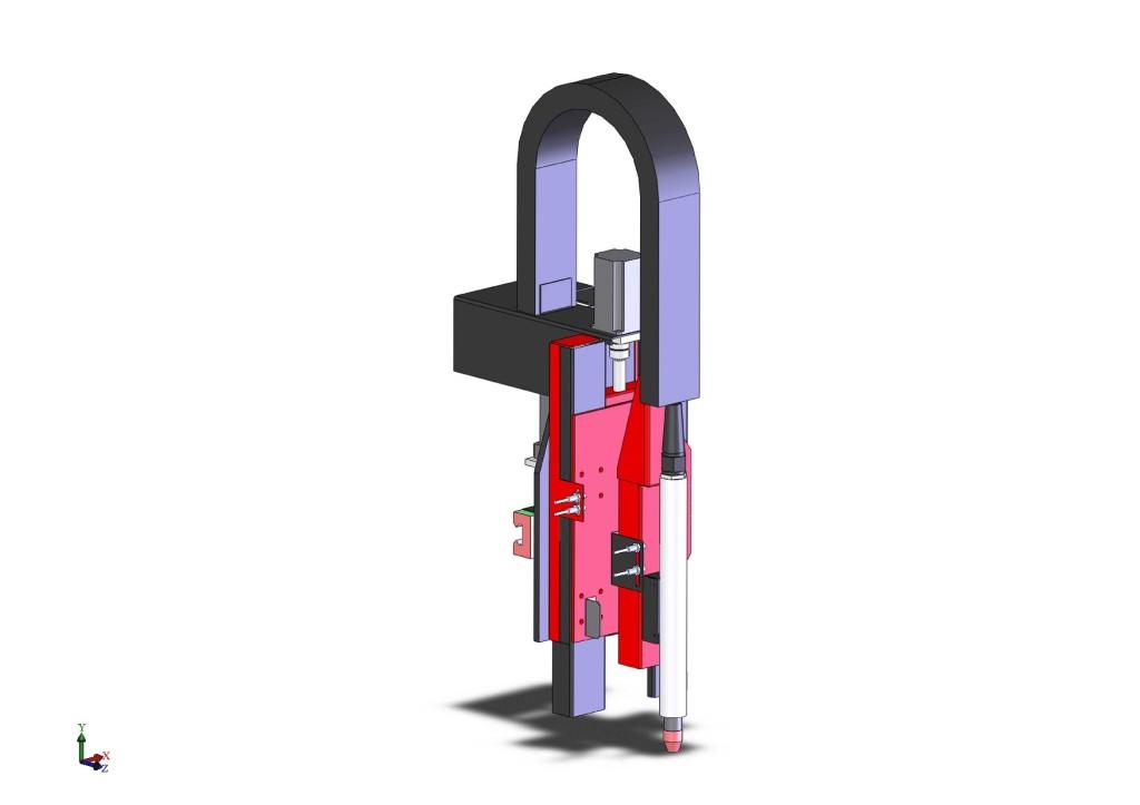 Каретка установки плазменной резки с ЧПУ