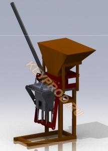 Пресс для производства блоков-1