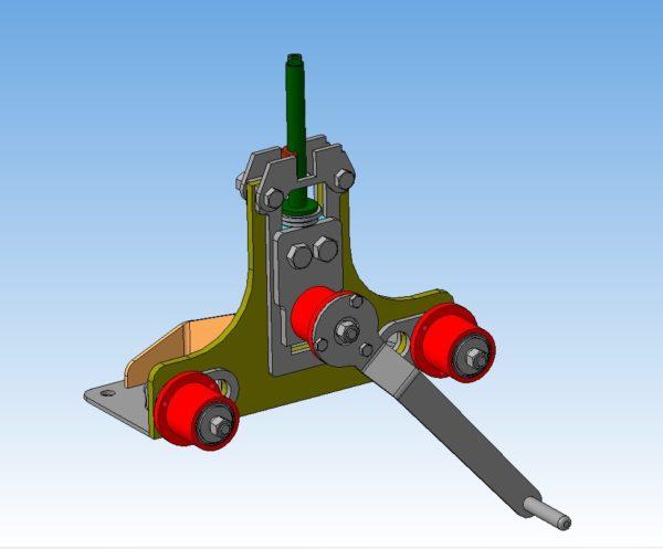 Трубогиб Ручной 3D-модель компас