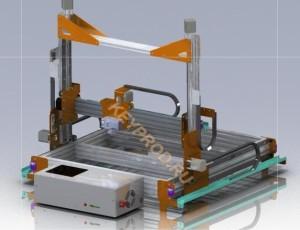 3D принтер 3D-модель keyprod