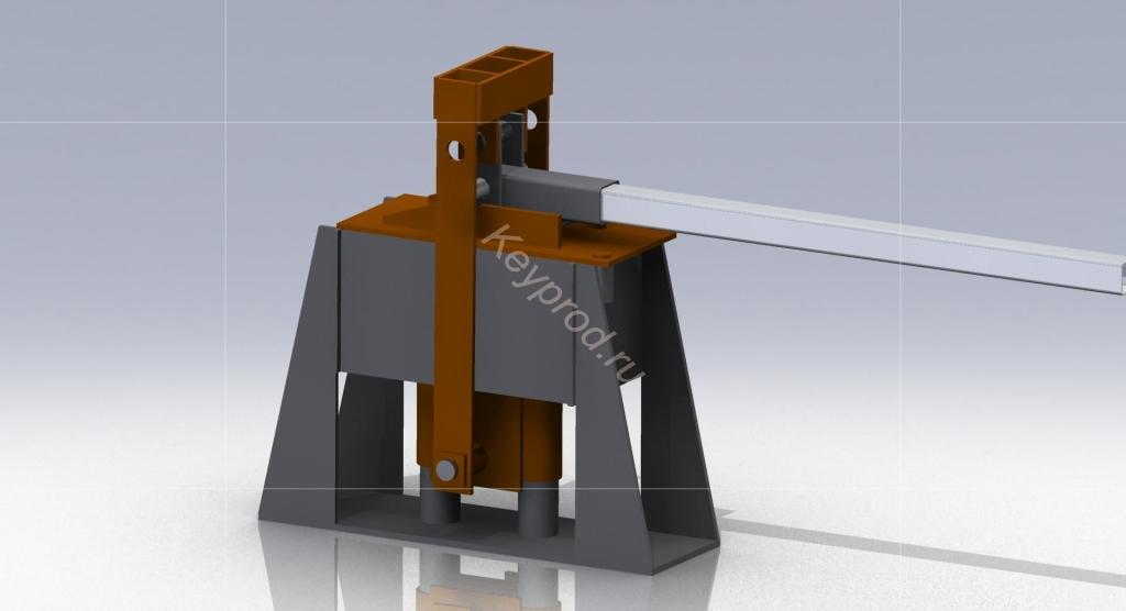 Пресс форма для производства блоков