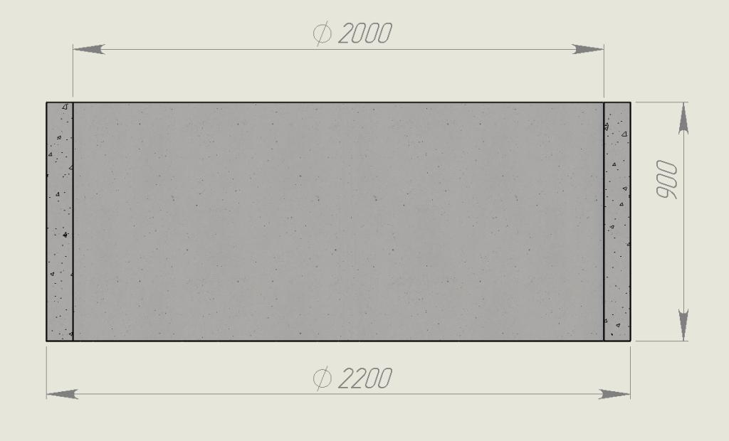 Размеры ЖБИ кольца КС 20х9