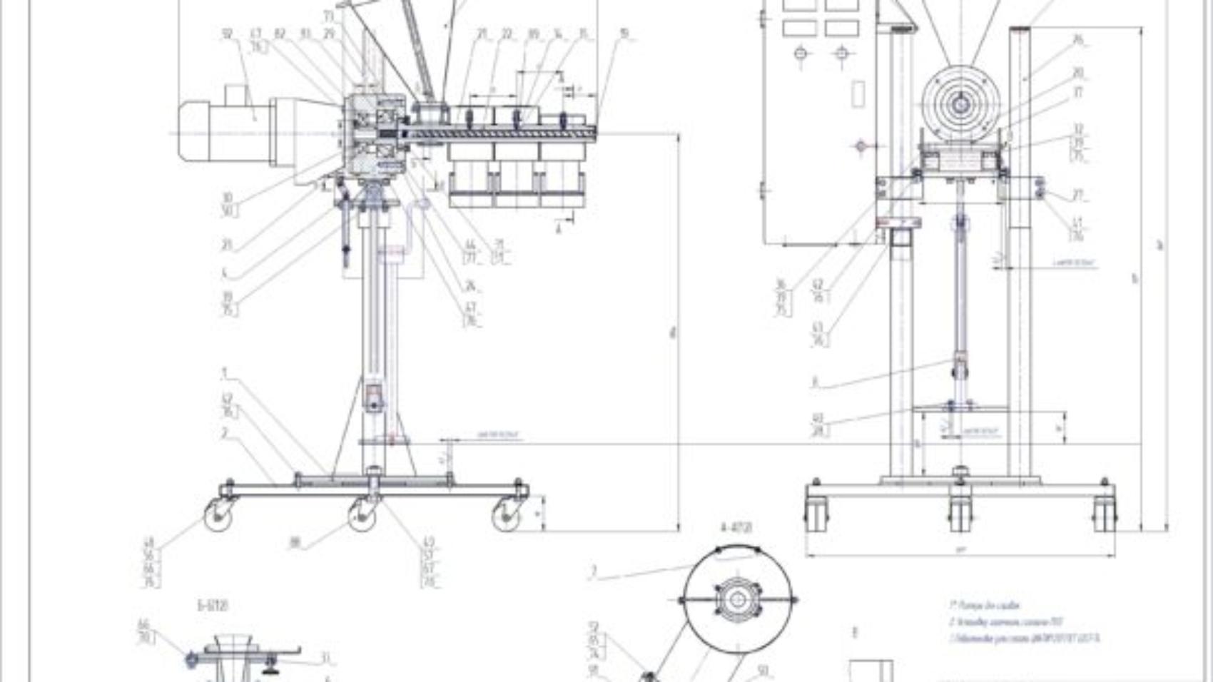 ekstruder-dlya-proizvodstva-polimernyx-profilno-pogonazhnyx-izdeli-chertezh-skachat-besplatno