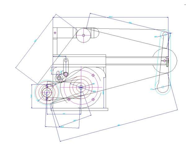 Гриндер Г11 чертежи DWG