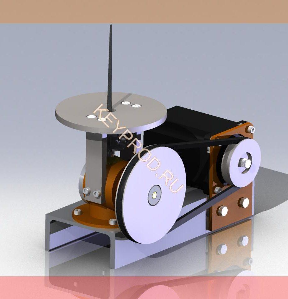 3D-модель Механический напильник