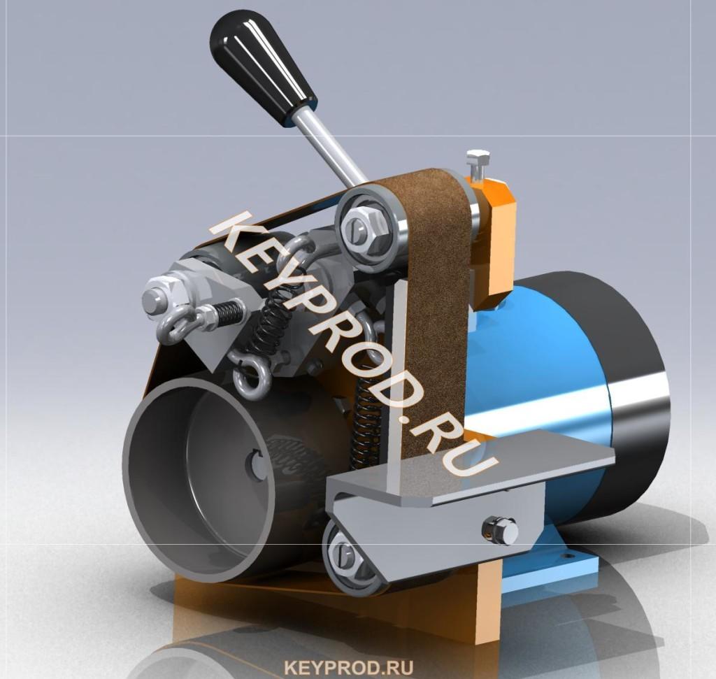 Мини Гриндер 3D-модель чертежи