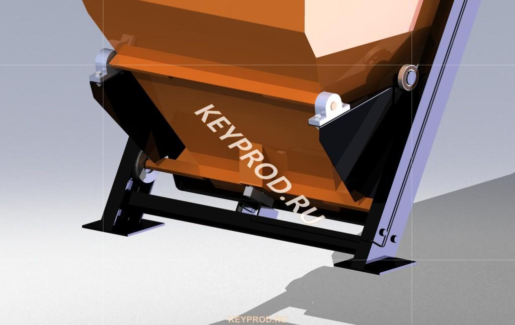 Подъемник скиповый ПС 02 весовое устройство