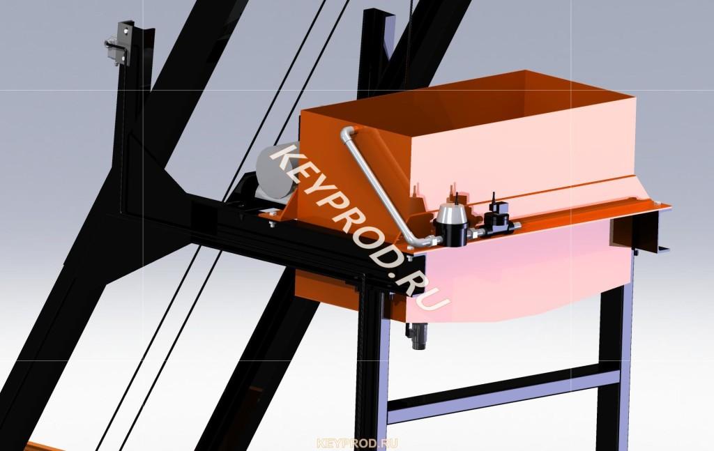 Дозатор воды скипового подъемника