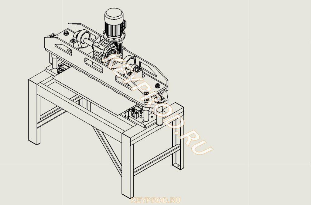 Гильотина механическая резки стального листа