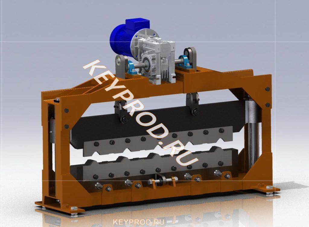 Механическая гильотина для резки профнастила