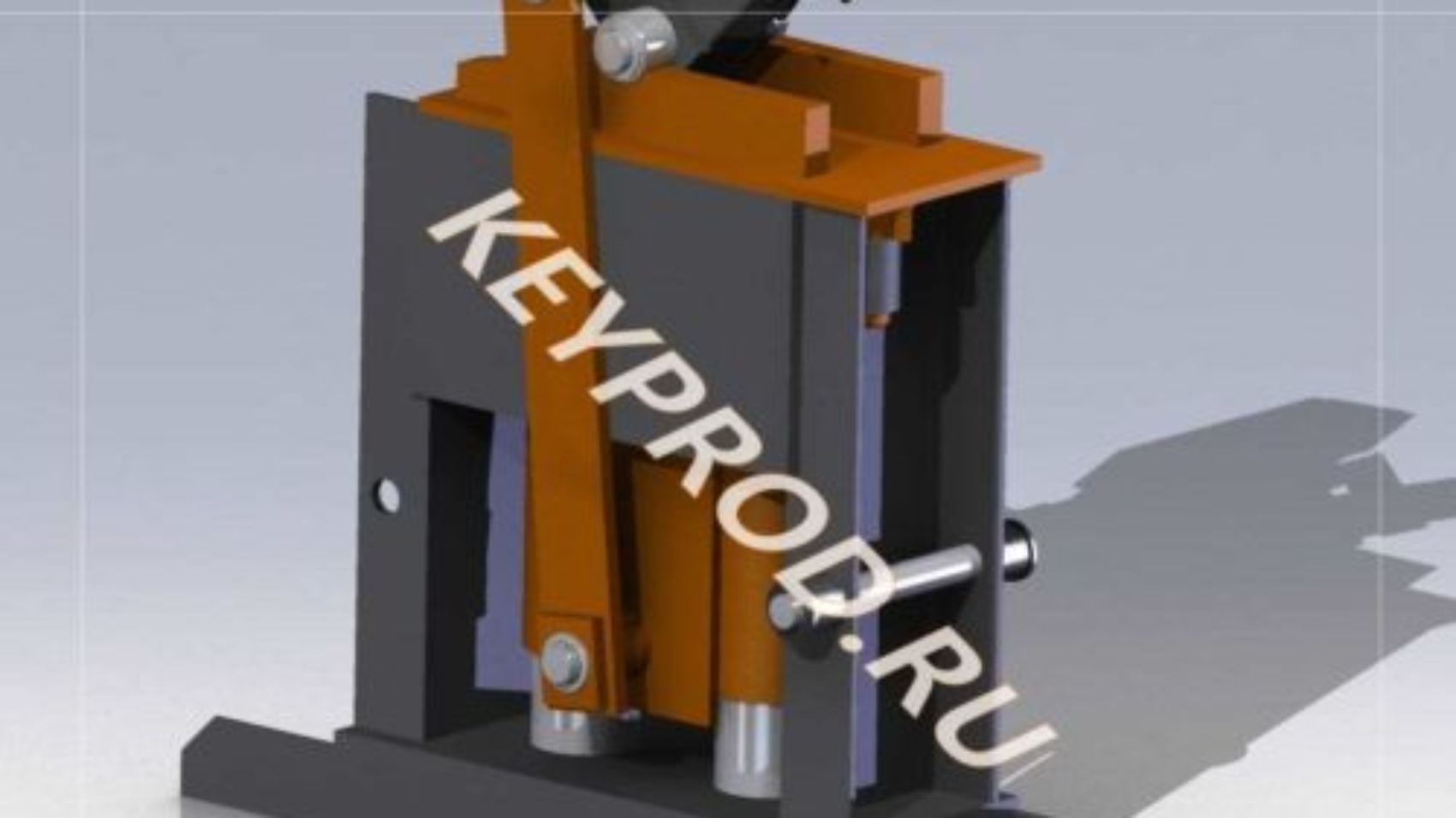 3D Модель Ручного формовочного станка