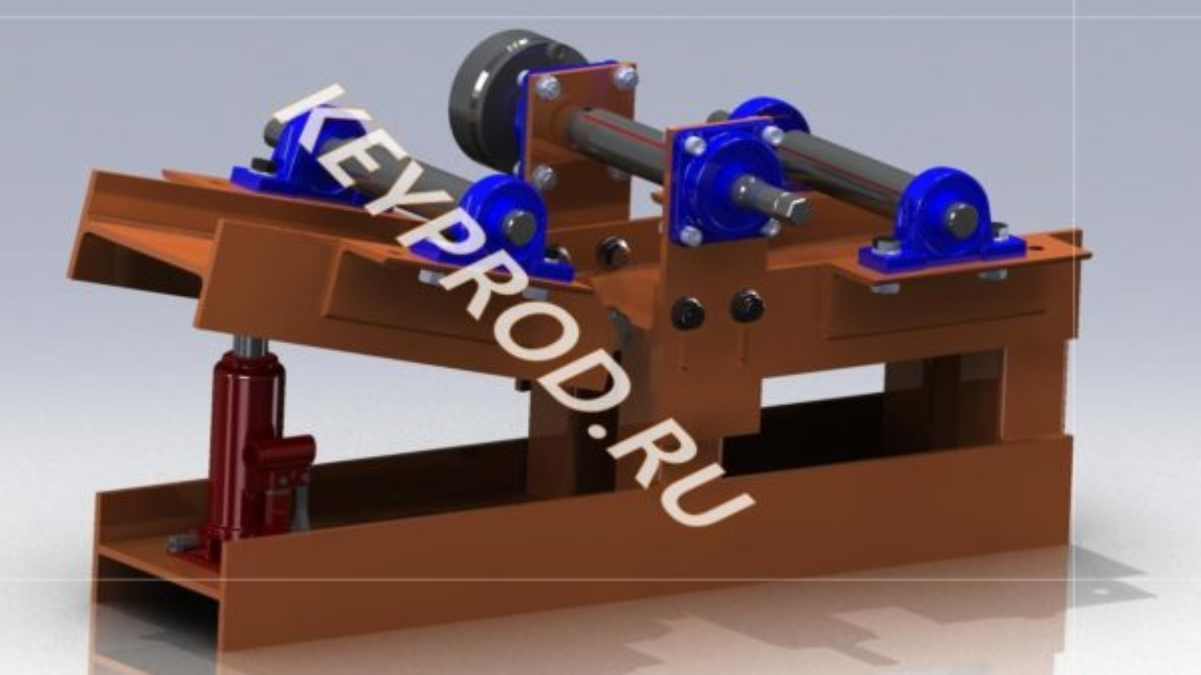 Профилегиб 3D-модель