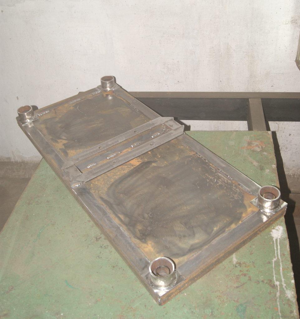 Изготовление вибростола для плитки keyprod
