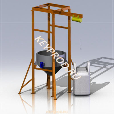 3D-модели и чертежи растаривателя биг-бегов