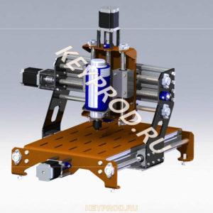 3D-модели и чертежи станков портальных с ЧПУ keyprod