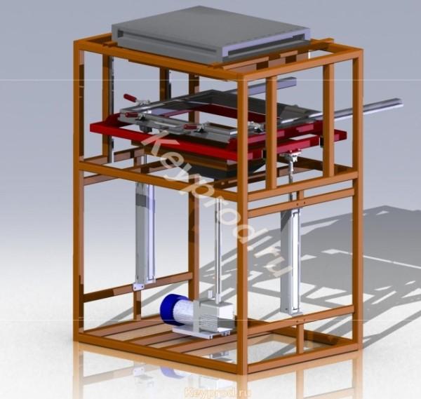 Вакуум-формовочная машина ВФМ-01