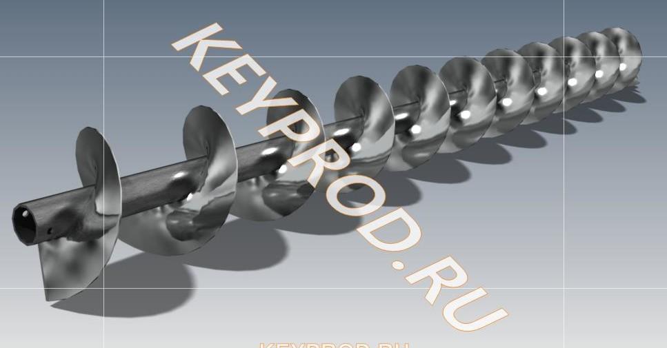 Оборудование для производства спиральных шнеков