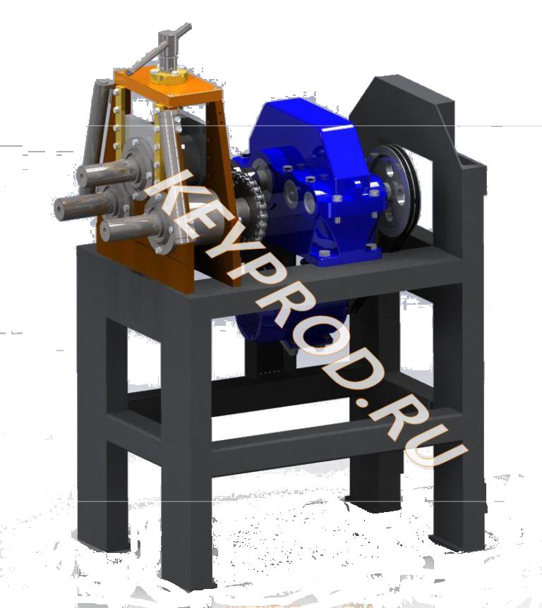 Трубогибы 3D-модели, чертежи и описание Tube bender