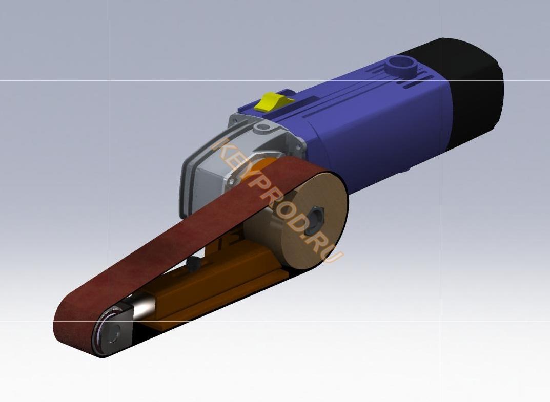 ручной гриндер keyprod 3D-модель