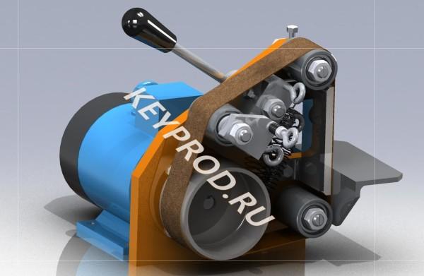 3D-модели и чертежи гриндера Г03
