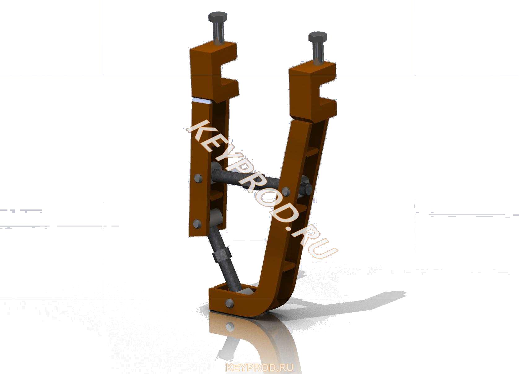 3D-модели и чертежи различной оснастки и приспособлений