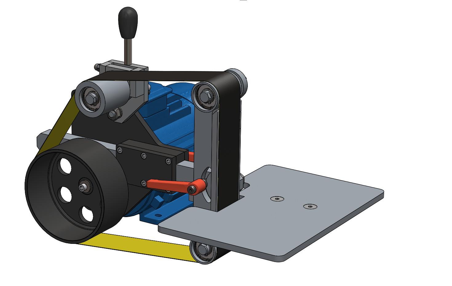Чертежи, 3D-модели и описание станков шлифовальных ( гриндеры)
