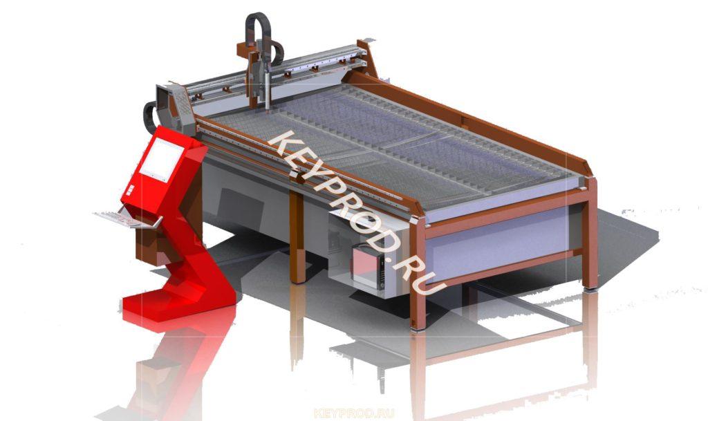 3D-модели плазменной резки
