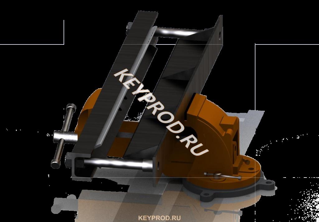 Чертежи и 3D- модель листогиба из тисков