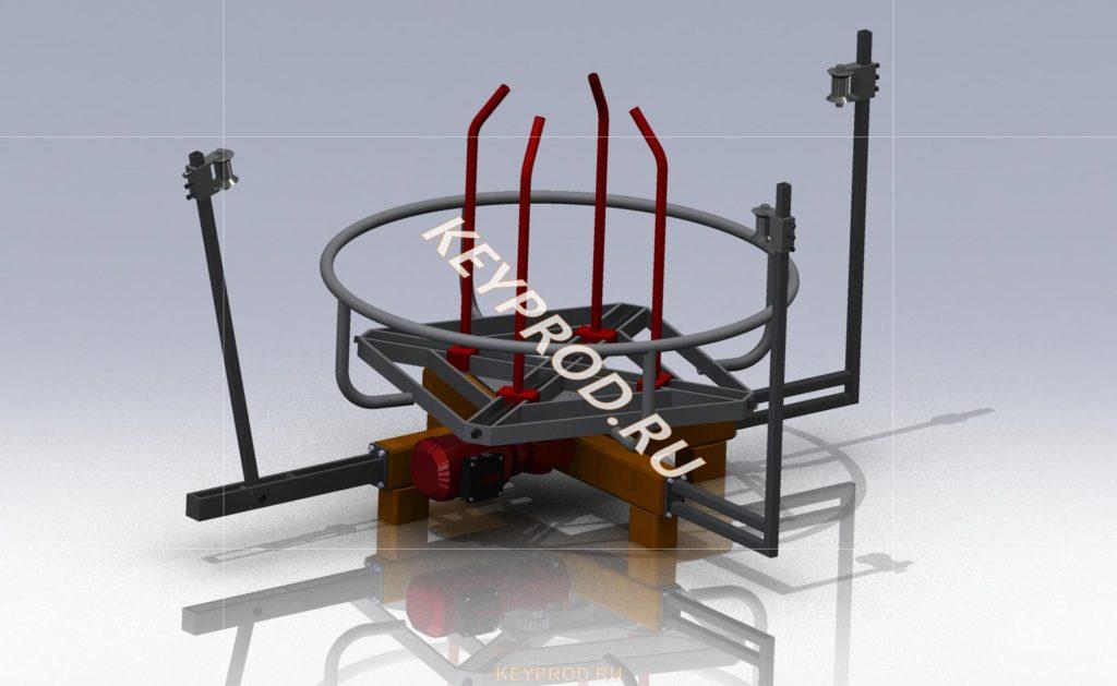 Размотка проволоки (до 500 кг) (