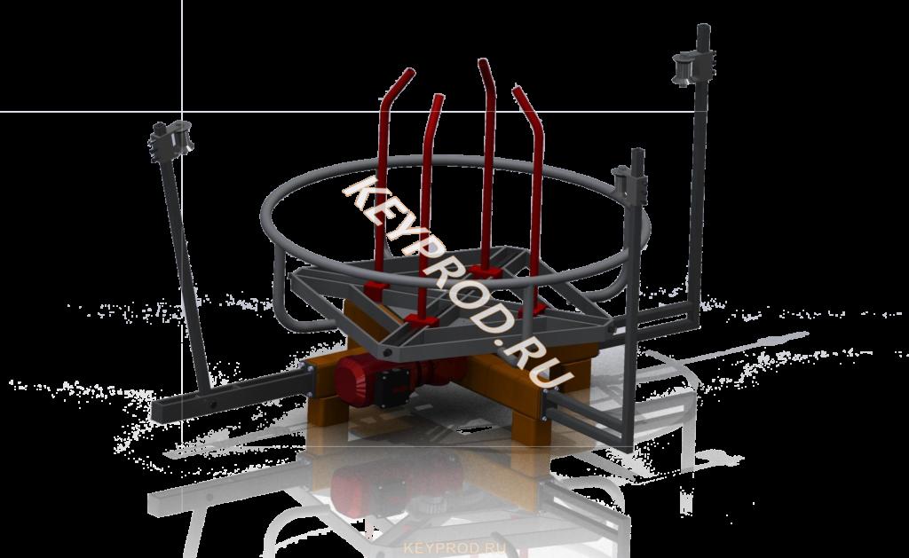 Размотка проволоки (до 500 кг) 3D-модель и чертежи
