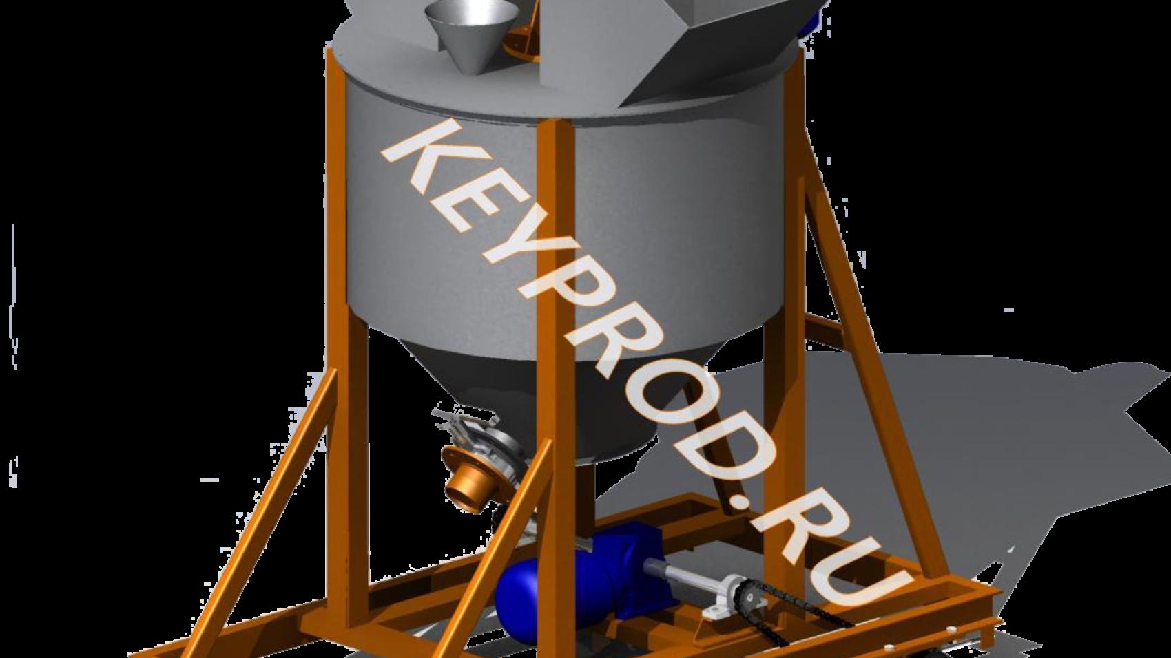 Чертежи и 3D-модели оборудования для производства газобетона