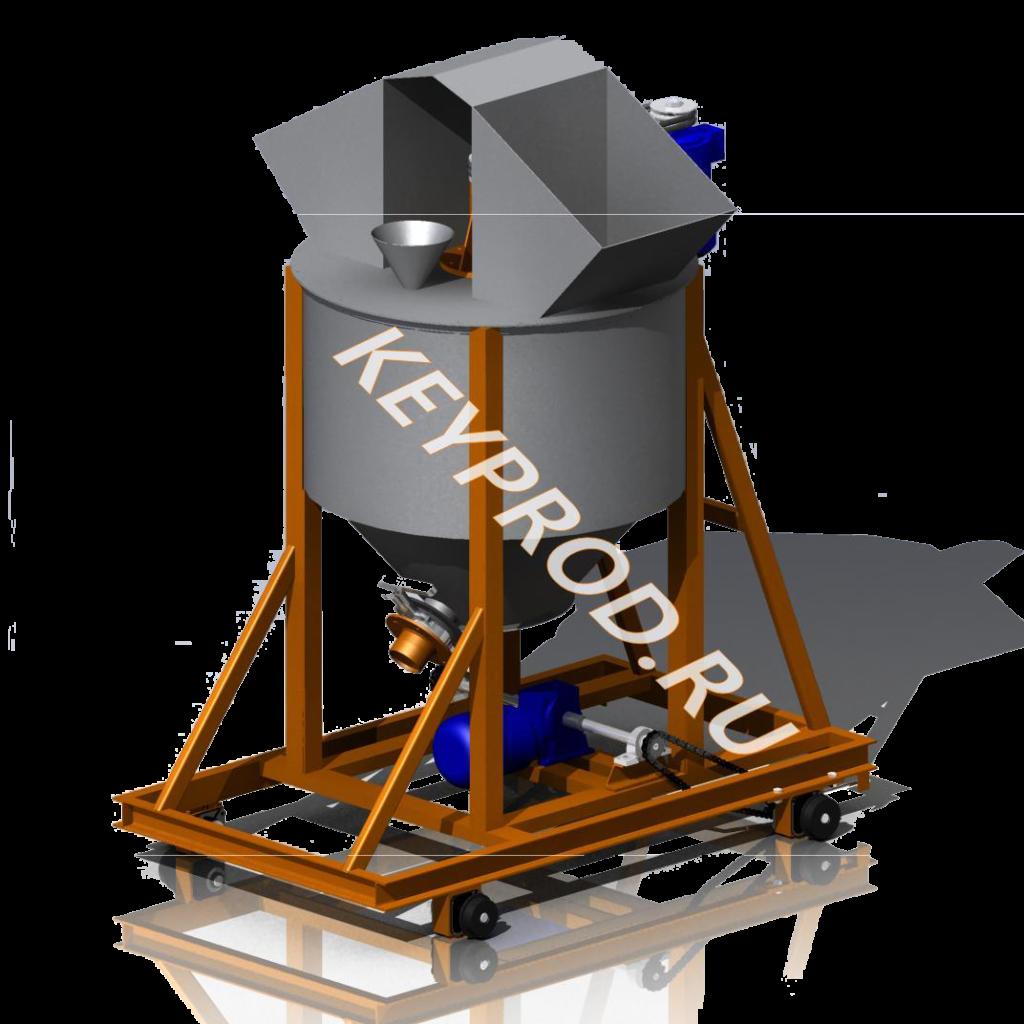 Чертежи и 3D-модели смесителей-активаторов