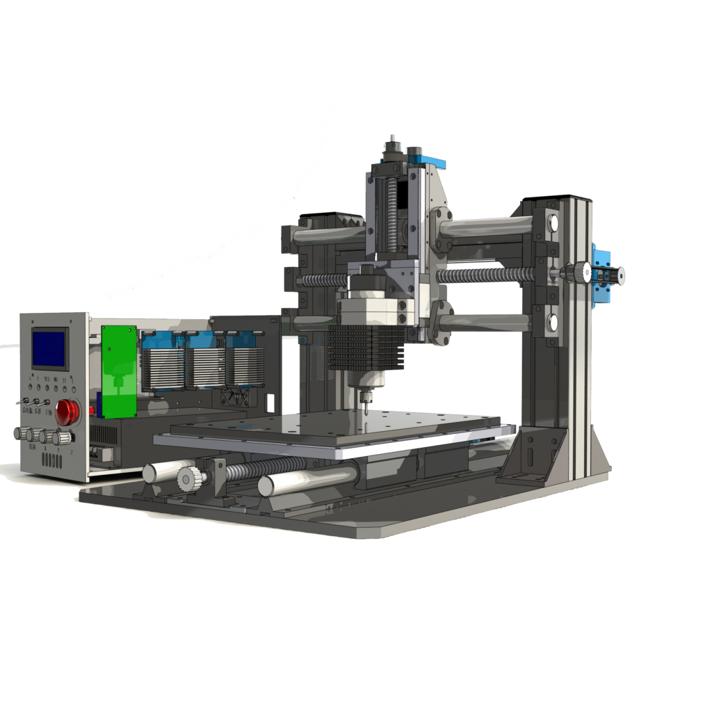 станки портальные с чпу чертежи и 3D-модели