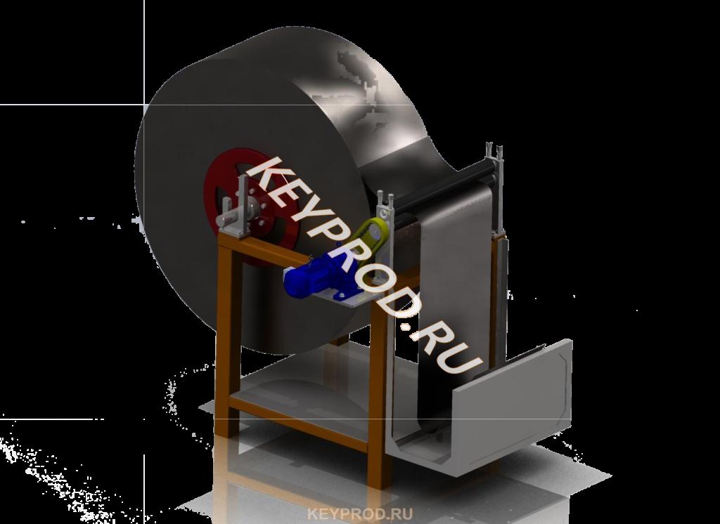 3D-модель размотки полосы РП-03