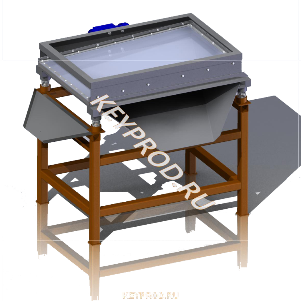 3D-модели и чертежи вибросита для производства газобетона
