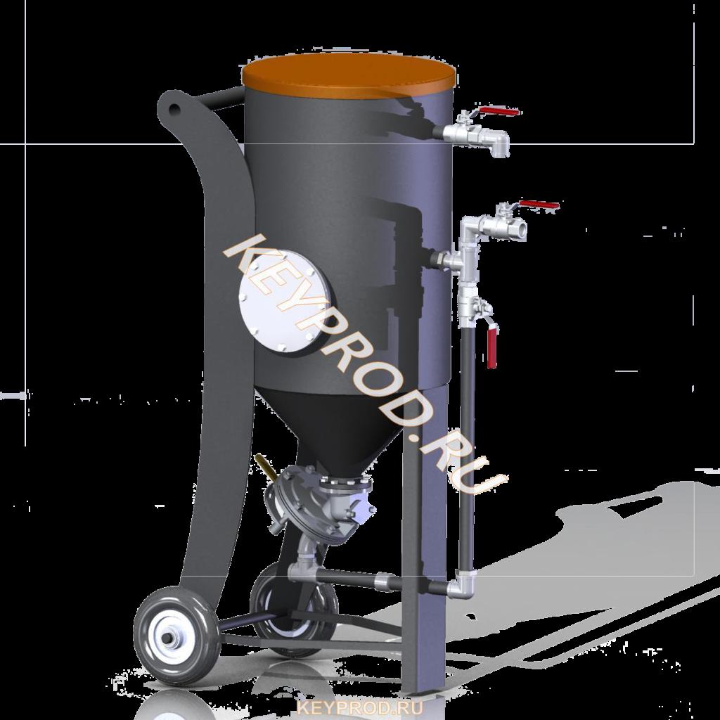 3D-модели и чертежи оборудования для пескоструйной обработки