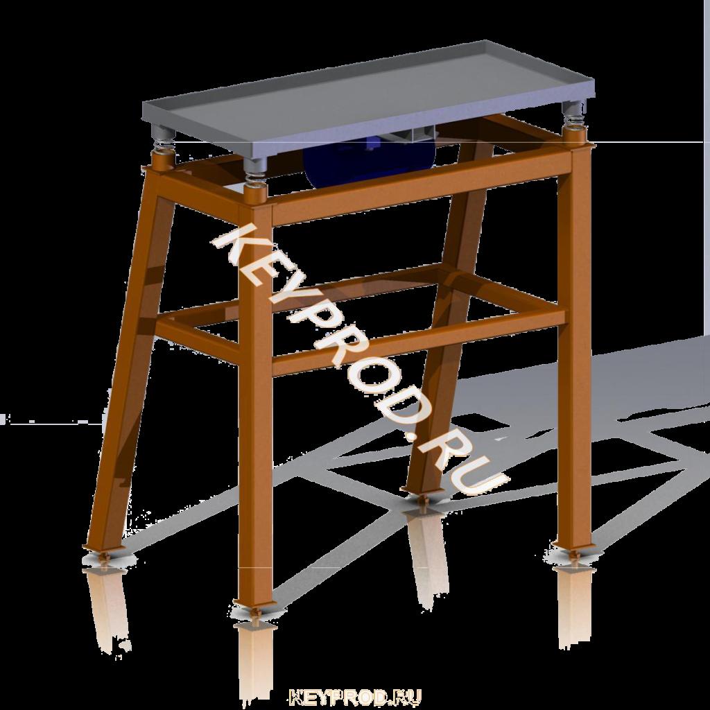 3D-модель и чертежи Вибростола Keyprod ВС02 mini