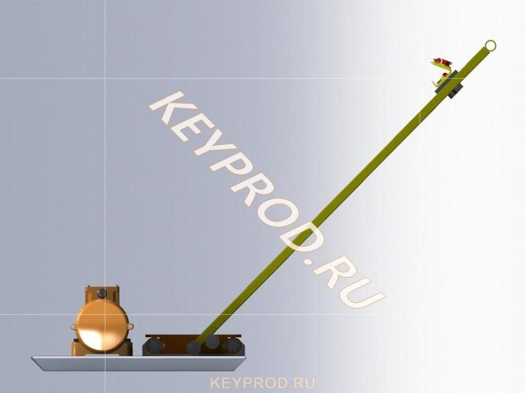 3D-модель Виброплощадка ВП01 1