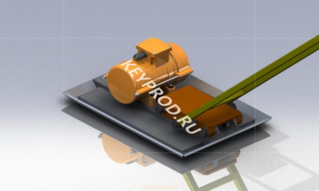 3D-модель Виброплощадка ВП01 2
