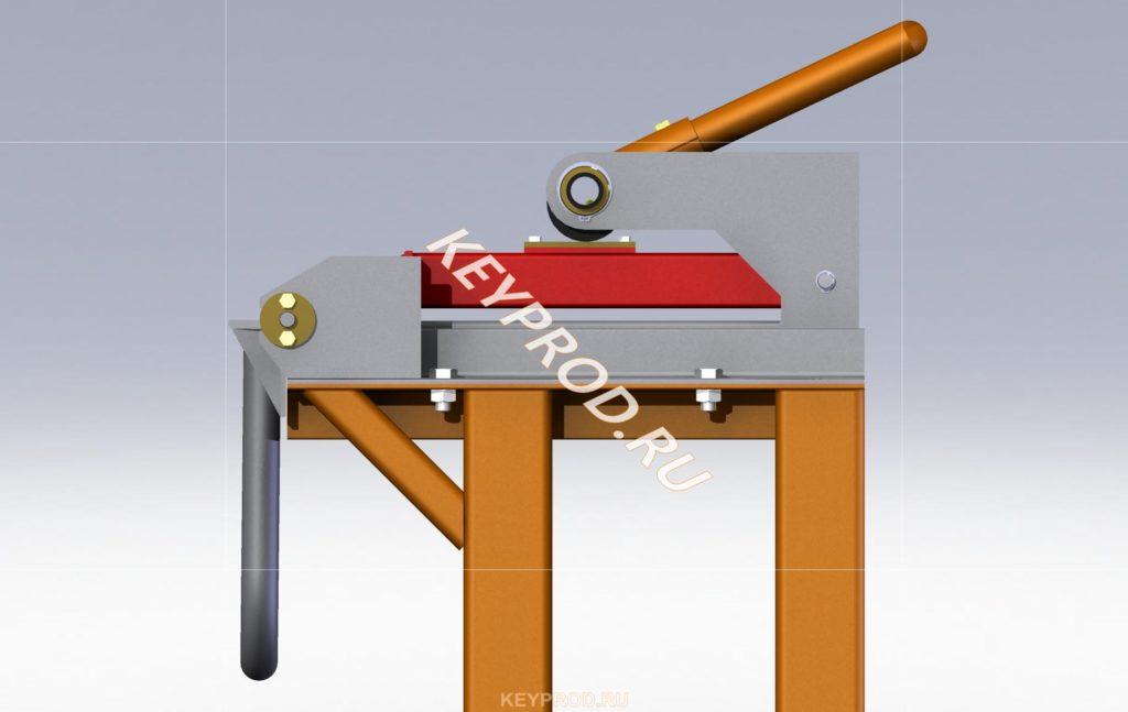 3D-модель листогиба ручного (2500 мм.