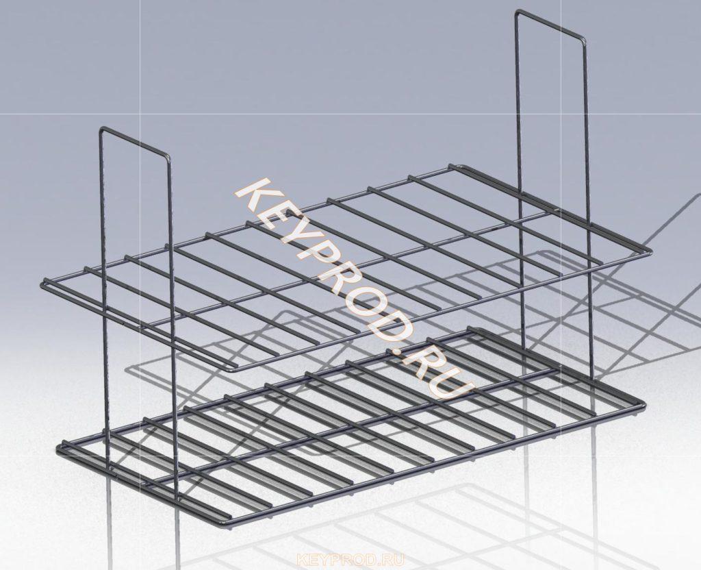 Каптильня горячего копчения решетка (2)