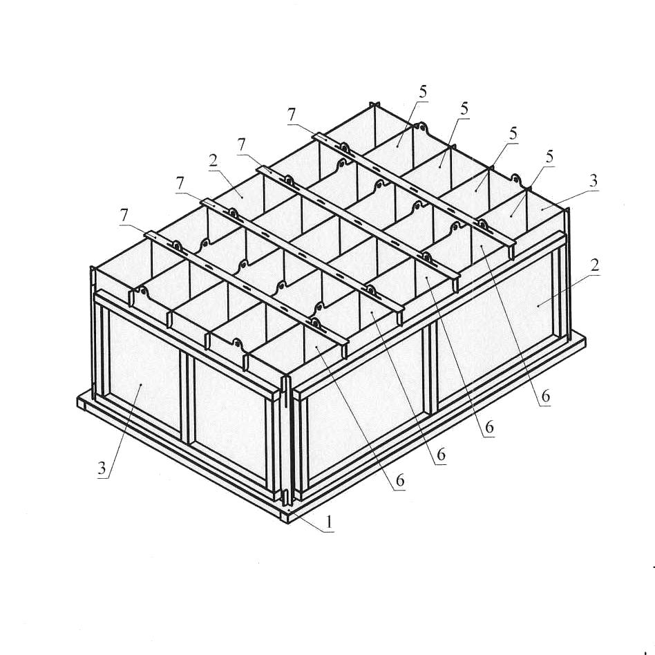 форма кассетная для пеноблоков чертежи