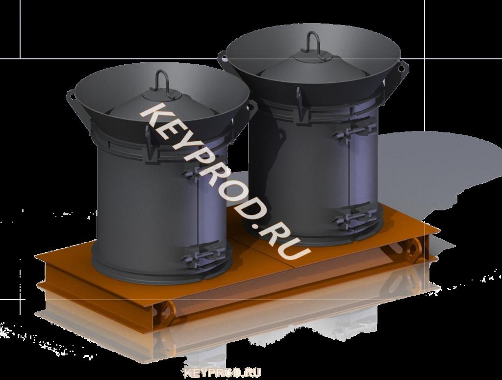 3D-модели и чертежи Форма для кольца КС 7х9