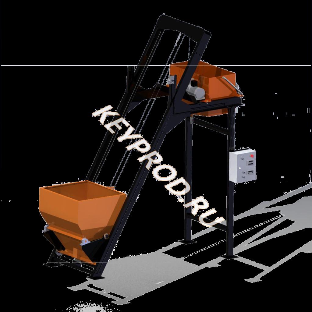 3D-модели и чертежи подъемников для производства газобетона кейпрод keyprod