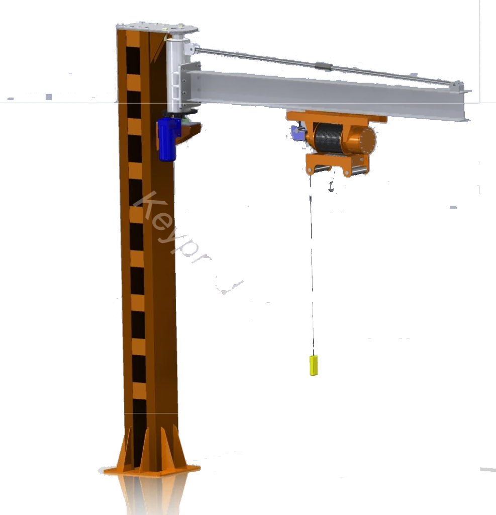 Балка поворотная 3D-модель и чертежи IGES STP